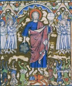 Kreuzritterbibel am Anfang