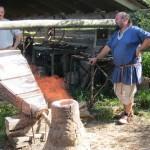 Rennofen - Versuch der Eisenverhüttung